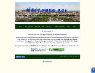 easyfreeads.yolasite.com screenshot