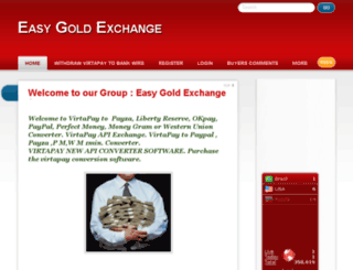 easygoldexchange.blogspot.co.nz screenshot