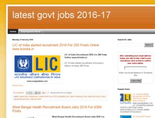 easygovtjobs.com screenshot