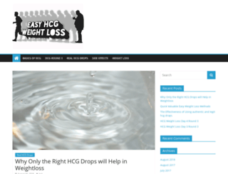 easyhcgweightloss.com screenshot