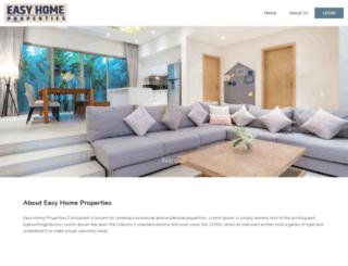 easyhomeproperties.com screenshot