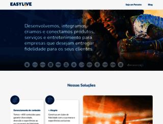 easylive.com.br screenshot