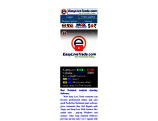 easylivetrade.com screenshot
