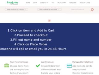 easyloanforme.com screenshot