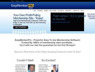 easymemberpro.com screenshot
