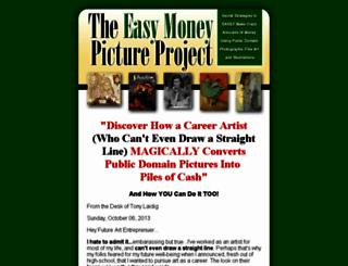easymoneypictureproject.com screenshot