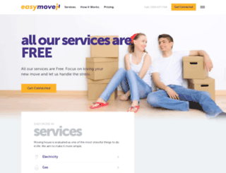 easymovein.com.au screenshot
