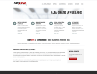 easynews.es screenshot