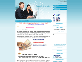 easyonlinejobs.ucoz.com screenshot