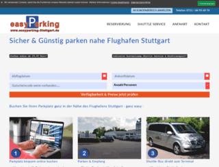 easyparking-stuttgart.de screenshot