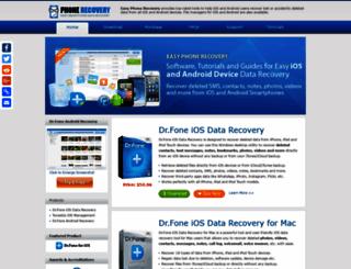 easyphonerecovery.com screenshot