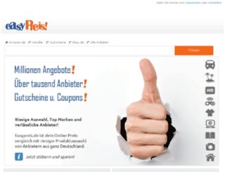 easypreis.de screenshot