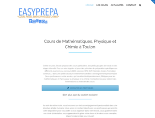 easyprepa.fr screenshot