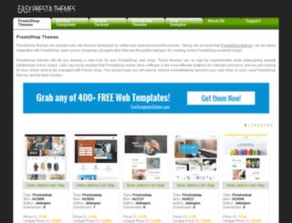 easyprestathemes.com screenshot