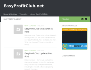 easyprofitclub.net screenshot