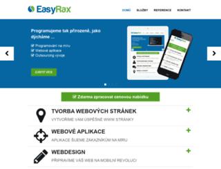 easyrax.cz screenshot