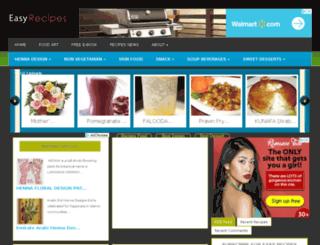 easyrecipes.in screenshot