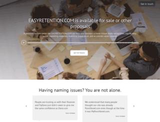 easyretention.com screenshot