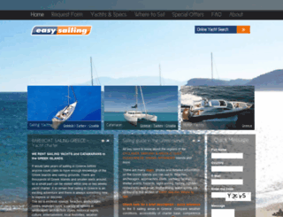 easysailing.gr screenshot