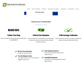 easyscrapcarcollections.com screenshot