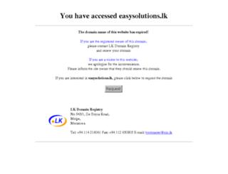 easysolutions.lk screenshot