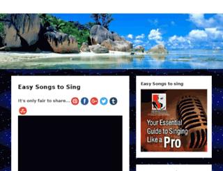 easysongstosing.org screenshot