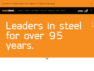 easysteel.co.nz screenshot