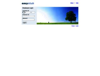 easystub.ca screenshot