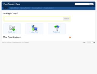 easysupportdesk.com screenshot