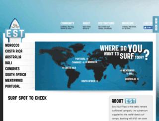 easysurftrips.com screenshot