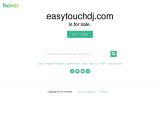 easytouchdj.com screenshot