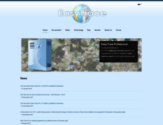 easytrace.com screenshot