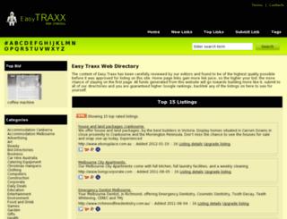 easytraxx.info screenshot