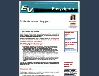 easyvigour.net.nz screenshot