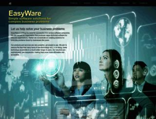 easyware.co.uk screenshot