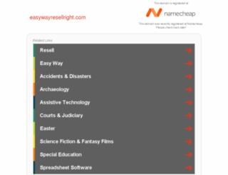 easywayresellright.com screenshot