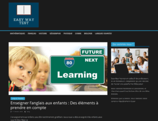 easywaytest.com screenshot