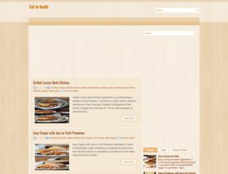 eat-to-death.blogspot.com screenshot