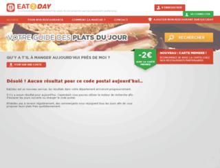 eat2day.fr screenshot