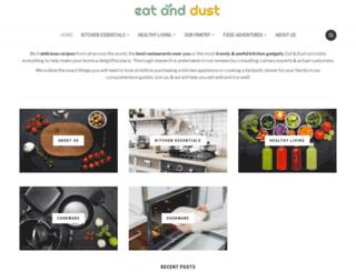 eatanddust.com screenshot