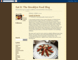 eatbrooklynfood.blogspot.com screenshot