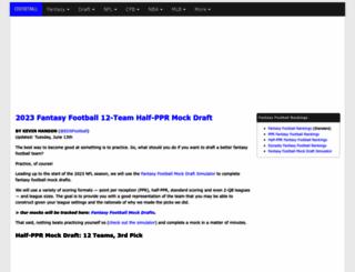 eatdrinkandsleepfootball.com screenshot