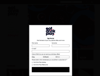 eatdrinkplay.com screenshot