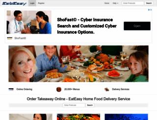 eateasy.co.uk screenshot