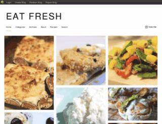 eatfresh.blog.com screenshot