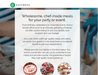 eatfresh.com screenshot
