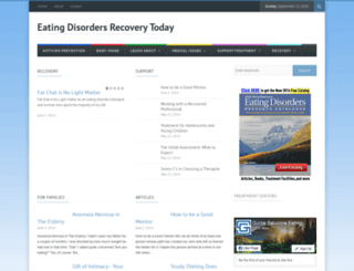 eatingdisordersrecoverytoday.com screenshot