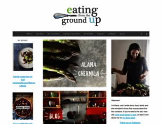 eatingfromthegroundup.com screenshot