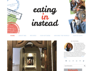 eatingininstead.com screenshot