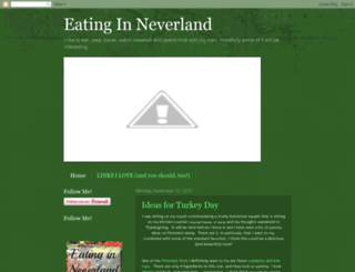 eatinginneverland.blogspot.ca screenshot